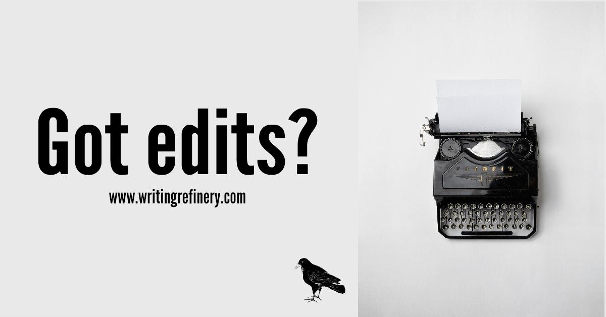 Got edits?